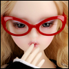 SD - Dollmore Lensless Sunglasses I (Red)