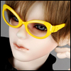 SD - Dollmore Lensless Sunglasses I (Yellow)