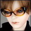 SD - Dollmore Lensless Sunglasses I (Brown)