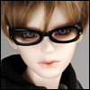 SD - Dollmore Lensless Sunglasses II (Black)