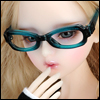 SD - Dollmore Lensless Sunglasses II (Blue)