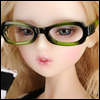 SD - Dollmore Lensless Sunglasses II (Green)