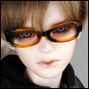 SD - Dollmore Lensless Sunglasses II (Brown)