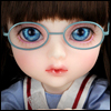 Mokashura Size - Round Steel Lensless Frames Glasses (Mint)