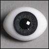 12mm Classic Flat Back Oval Glass Eyes (CC06)