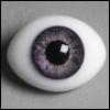 12mm Classic Flat Back Oval Glass Eyes (CC07)