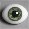 12mm Classic Flat Back Oval Glass Eyes (CS03)