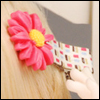 Camomile Pin (D.pink)