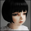 (13-14) Bold Perm Wig (Black)