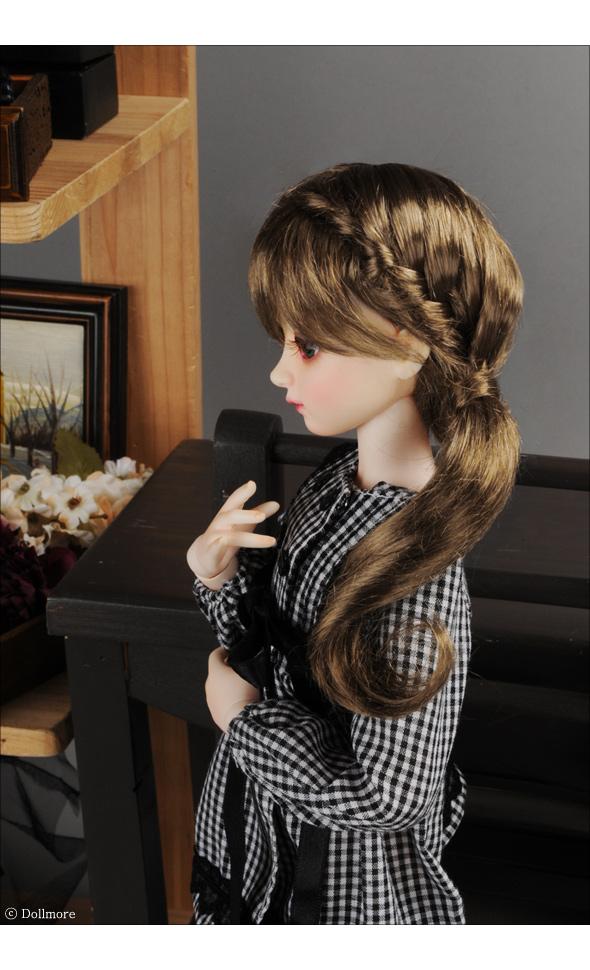 (7-8) Fraga Long Wig (Brown)