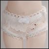 Dear Doll Size - Thistle Panty (White)