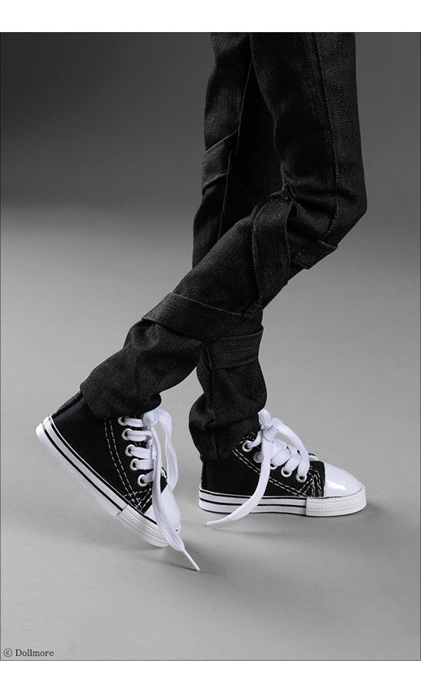 모델돌여아 & SD남아 size - Love Sneakers (Black)