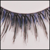 Doll eyelashes - 28-626 (Blue)