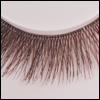 Doll eyelashes - 36-667 (Brown)