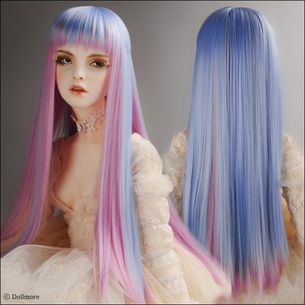 (13-14) Long Vora Straight Wig (FF Violet)
