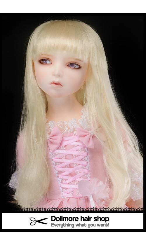 (13-14) Soft Straight Wig (Blonde)