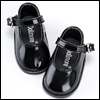 Narsha Size - Basic Girl Shoes (Black Enamel)