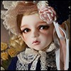 Illua Doll - Renoir's Blue Coat : Petit Dahlia - LE10