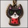 MSD & SD Size - Honesty Cat Necklace (Entique Gold)