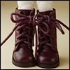 Dear Doll Size - Basic SL Boots (D.Brown)