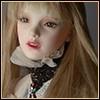 (13-14) Human Hair Bangs Straight wig (Blonde)
