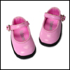 Narsha Size - Basic Girl Shoes (Pink Enamel)