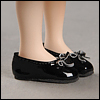 Mona Doll - Basic Ribbon C Shoes (Black)