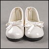Mona Doll - Basic Ribbon C Shoes (White)