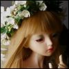 (8-9) Pure Flower Garlands (White)