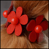 MSD & SD - Zoe hair Band (Red)[A7]