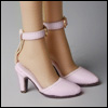 Fashion doll Size - Delightful Heels shoes (Pink)[C3]