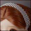 MSD & SD - Nwt hair Band (White)[A7]