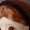 MSD & SD - Nwt hair Band (Black)[A7]