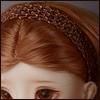 MSD & SD - Nwt hair Band (Brown)[A7]
