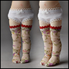 Dear Doll Size - Byrne Band Stocking (Ivory)
