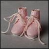 [20mm신발] 레이스업 에나멜 부츠 (Pink)