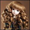 (7-8) Eraser Long Curl (Brown)
