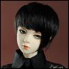 (8-9) Layerd Cut Wig (Black)[D2]