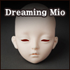 Dollmore Eve Doll Head - Dreaming Mio