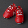 "12"" Trudy Sneakers (Red)"