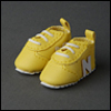 "12"" Trudy Sneakers (Yellow)"