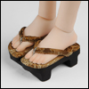MSD - Ino Wooden clogs Geda (G Gold)