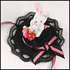 All Size - Rabbit Berry Hat (Black)