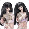 (3-4) Long Straight wig (Black)[H4]