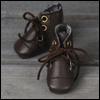 "12"" Vintage Boots (Brown) - 20cm"