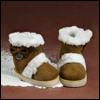 Dear Doll Size - Devaux Ribbon Boots (Brown)