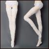 """16"""" 패션돌Size - Span Lace Band stocking (White)"""