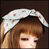 MSD & SD - RDW Hairband (131 - Tulip White)