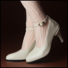 Trinity Doll - RM High Heel Shoes (Enamel Cream)