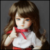 (6-7) Melrose Long Bang Wig (Brown)